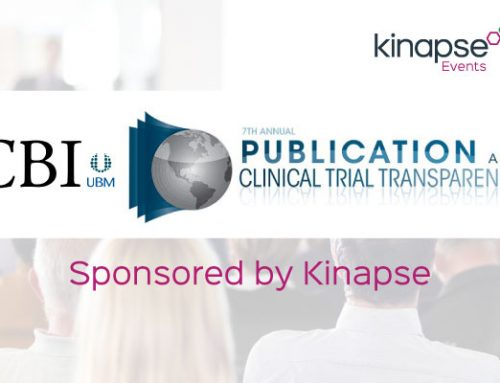 Kinapse sponsoring CBI's Publication and Clinical Trial Transparency