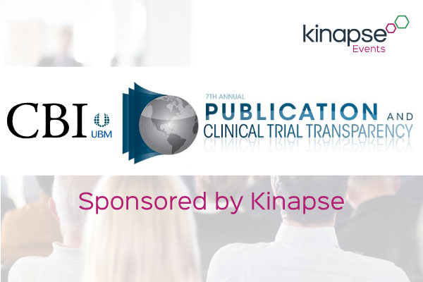 Kinapse events - CBI Publication and Clinical Trial Transparency
