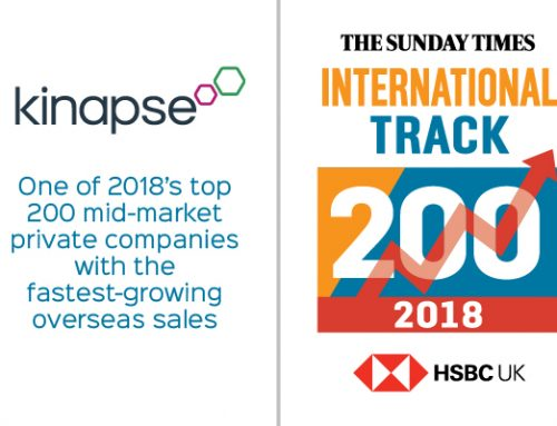 Kinapse features in the International Track 200 for second year running