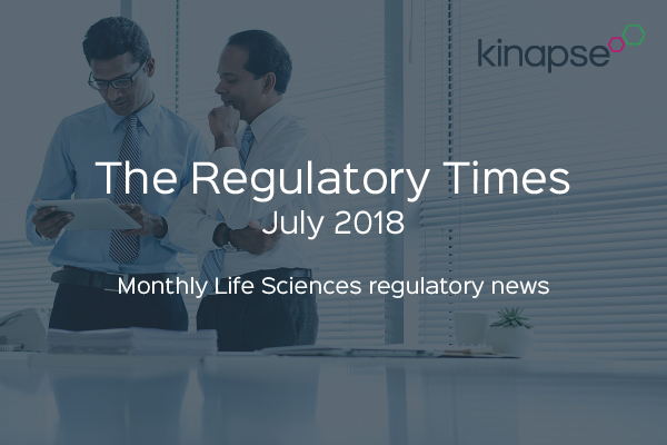 The Regulatory Times July 2018