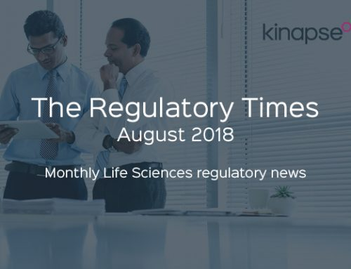 The Regulatory Times August 2018