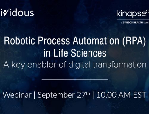 Webinar – Robotic Process Automation in Life Sciences