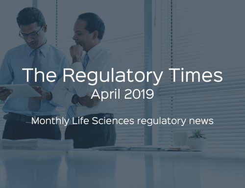 The Regulatory Times – April 2019
