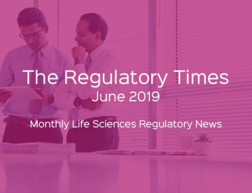 The Regulatory Times – June 2019