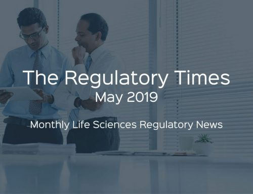 The Regulatory Times – May 2019